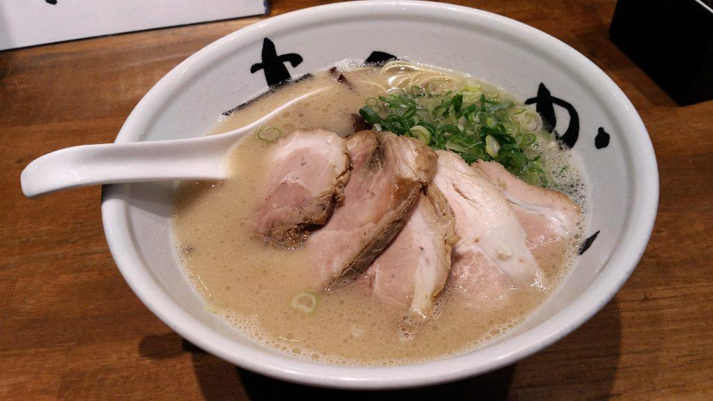 大阪福島ラーメン「まんかい」レビュー