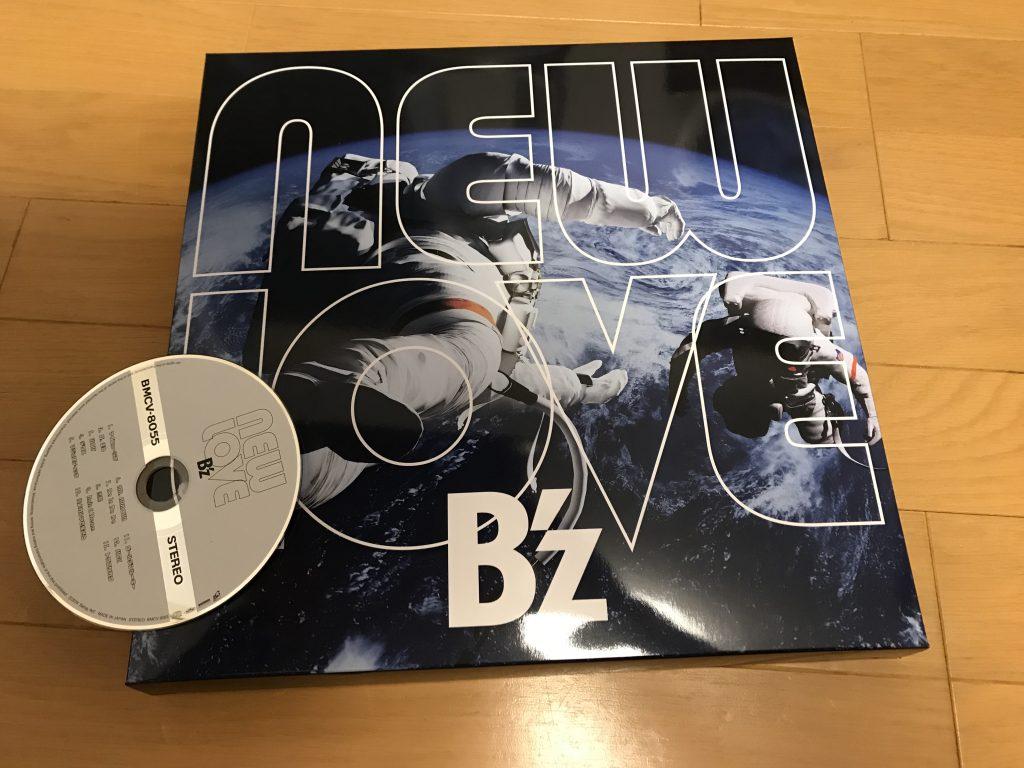 B'zのニューアルバム「NEW LOVE」を購入しました