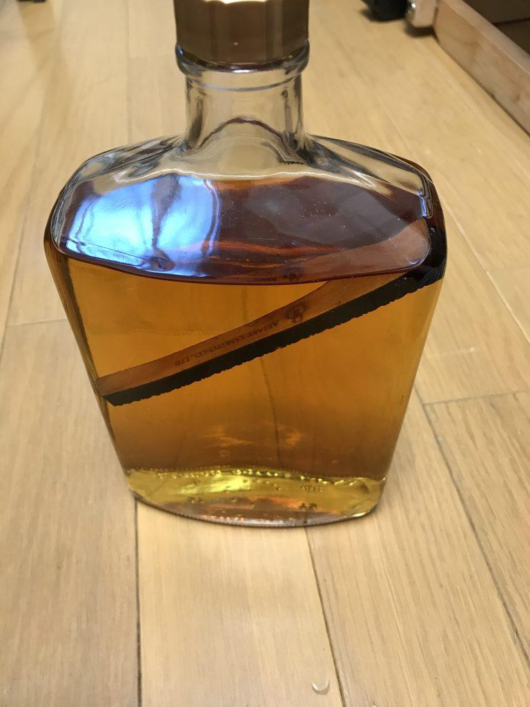 ウィスキー 樽フレーバーを貰った